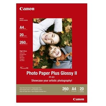 CANON PP-201 CARTA GLOSSY ( A4 ) 20 FG.