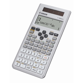Canon F-789SGA calcolatrice Tasca Calcolatrice con display Grigio