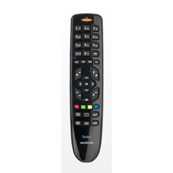 Meliconi Facile 1 telecomando IR Wireless TV Pulsanti