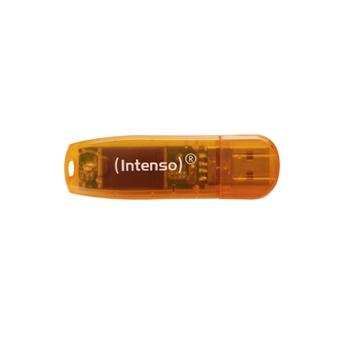 PEN DRIVE USB Flash 64GB USB 2.0 Intenso Rainb.L.