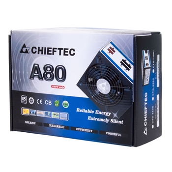 CHIEFTEC 650W PSU 85+ 230V W/CABLE MNG