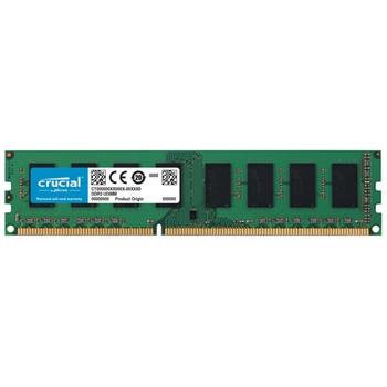 Crucial 8GB PC3-12800 memoria DDR3 1600 MHz