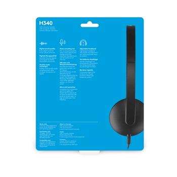 Headset Logitech H340 (981-000475)