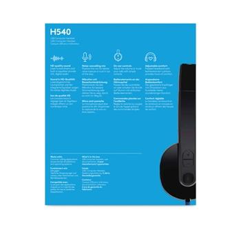 Headset Logitech H540 (981-000480)