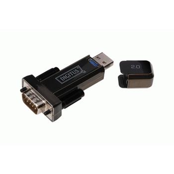 Digitus Converter USB 2.0 D-Sub 9 Male Nero