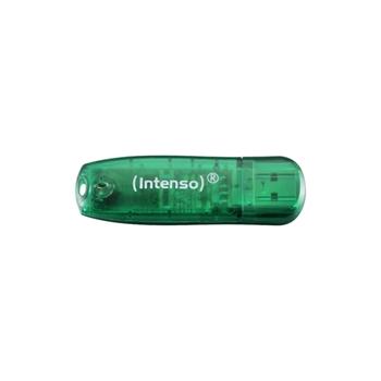 INTENSO CHIAVETTA USB 8GB VERDE USB 2.0