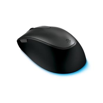 Microsoft Comfort 4500 mouse USB BlueTrack 1000 DPI Ambidestro