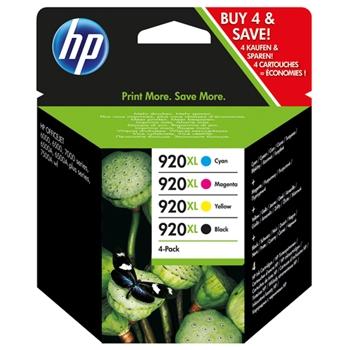 HP INC 920XL CMYK INK CARTRIDGE COMBO PACK