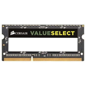 CORSAIR DDR3 1600MHZ 8GB 1x204 SODIMM Unbuffered