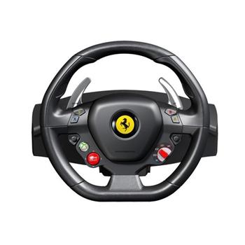 Thrustmaster Ferrari 458 Italia Sterzo + Pedali PC USB 2.0 Nero