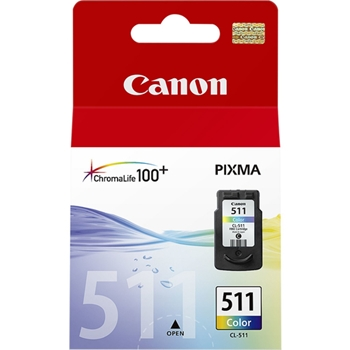 CANON CL-511 ink cartridge colour low capacity 9ml 240 pages 1-pack
