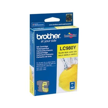 BROTHER CART GIALLO 260 PG X DCP 145C/165C
