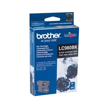 Brother LC-980BK cartuccia d'inchiostro Originale Nero 1 pezzo(i)