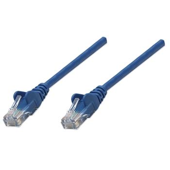 Intellinet 1m Cat5e cavo di rete Blu U/UTP (UTP)