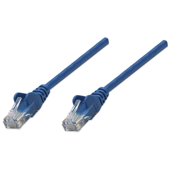 Intellinet 2m Cat5e cavo di rete Blu U/UTP (UTP)