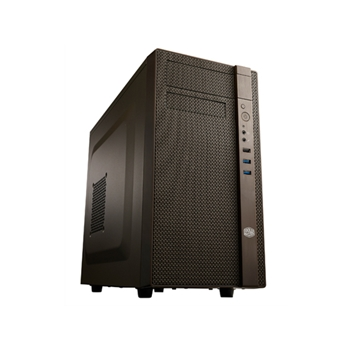 CM N200 black M-ATX case USB 3 0 x 1 and USB 2 0 x 2