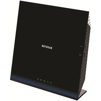 NETGEAR 5PT WIFI DSL MODEM ROUTER AC