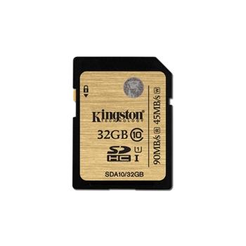 Kingston Technology SDHC/SDXC Class 10 UHS-I 32GB 32GB SDHC UHS Classe 10 memoria flash