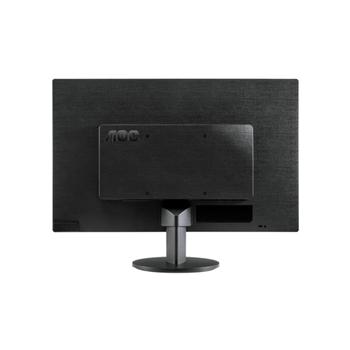 AOC 23.6IN E2470SWDA BK 16:9 250C 1920X1080 5MS VGA DVI-D MM .IN