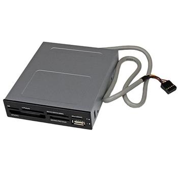 STARTECH LETTORE PER SCHEDE DI MEMORIA USB ALLOGGIAMENTO 3.5 IN
