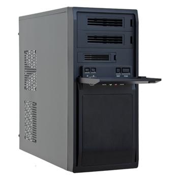 Case ATX Midi Chieftec LG-01B-OP w/o PSU black, Libra Series