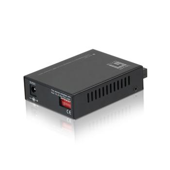LevelOne GVT-2001 convertitore multimediale di rete 1000 Mbit/s 850 nm Modalità multipla Nero