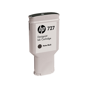 HP INC 727 300 ML OPACO BLACK INK