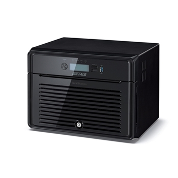 Buffalo TeraStation 4800D NAS Mini Tower Collegamento ethernet LAN Nero