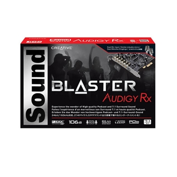 Creative Labs Sound Blaster Audigy Rx Interno 7.1 canali PCI-E