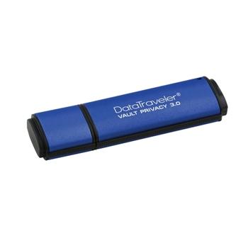 Kingston Technology DataTraveler Vault Privacy 3.0 8GB unità flash USB USB tipo A 3.2 Gen 1 (3.1 Gen 1) Blu