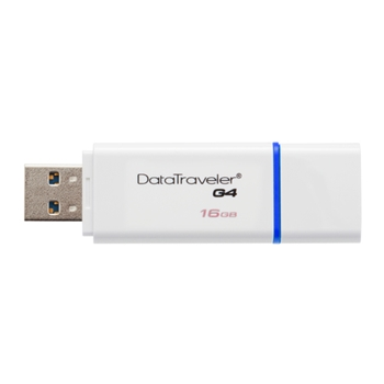 Kingston USB flash memory 16GB USB 3.0 DataTraveler I G4 - Blue