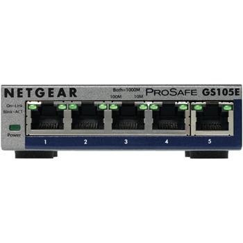 NETGEAR 5-PORT PROSAFE PLUS SWITCH GS105EV2 .IN