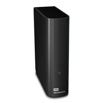 """HARD DISK ESTERNO WD ELEMENTS DESKTOP 4TB 4000GB USB 2.0 E 3.0 3,5"""" NERO"""