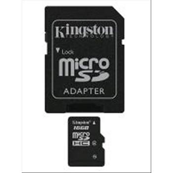 Memory card SD-Micro 32GB Kingston HC4 + ADATTATORE SD
