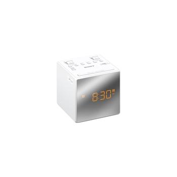 SONY CLOCK RADIO DUAL ALARM WHITE