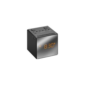 SONY CLOCK RADIO DUAL ALARM BLACK