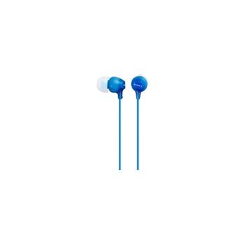 Sony MDR-EX15AP Cuffia Auricolare Blu