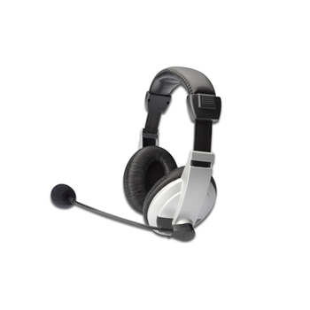ASSMANN DIGITUS STEREO MULTIMEDIA HEADSET WITH MIC
