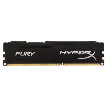 DDR3 Kingston HyperX Fury Black 4GB 1600MHz CL10 1.5V