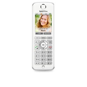 AVM FRITZ!Fon C4 International Telefono DECT Bianco Identificatore di chiamata