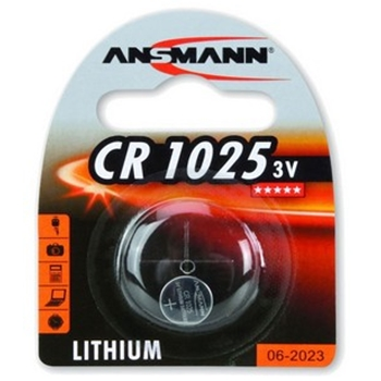 Ansmann 3V Lithium CR1025 Litio 3V