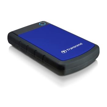 External HDD Transcend 25H3B 2.5'' 1TB USB3, Triple shock protection system