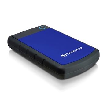TRANSCEND SJ25H3B HDD 2TB extern 6.4cm 2.5inch USB 3.0 Navy Blue