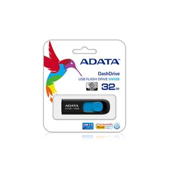 ADATA UV128 128GB USB3.0 Stick Black