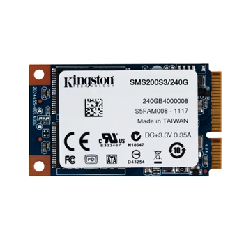 SSD Kingston mS200 240 GB Sata3 SMS200S3/240G mSata