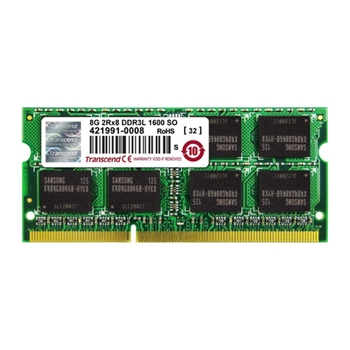 TRANSCEND 8GB DDR3L 1600 SO-DIMM 2Rx8 for iMac 27-inch Late 2013