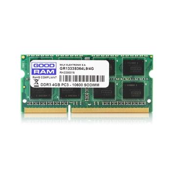 GOODRAM DDR3 4GB 1333MHz CL9 SODIMM 1.5V 512x8