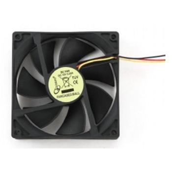 Gembird FANCASE2/BALL ventola per PC Computer case Ventilatore 9 cm Nero