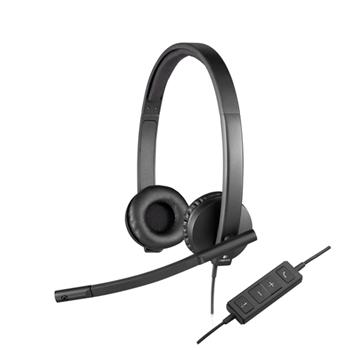 Headset Logitech H570e Stereo (981-000575)