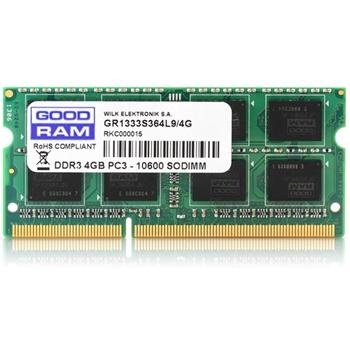 GOODRAM DDR3 4GB 1600MHz CL11 SODIMM 1.5V 512x8